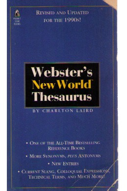 Webster's new world thresaurus