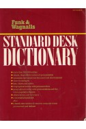 Standard desk dictionary