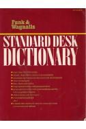 Standard desk dictionary