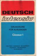 Deutsch intensiv - glossar 1 (Deutsch,Russisch,Bulgarisch,Polnisch,Tschechisch,Slowakisch)