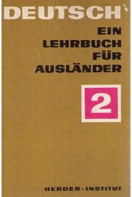 Deutsch ein Lehrbuch für Ausländer -Teil 2