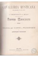 Cavalleria Rusticana: Melodramma In Un Atto