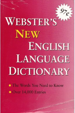 Webster's New English Language Dictionary