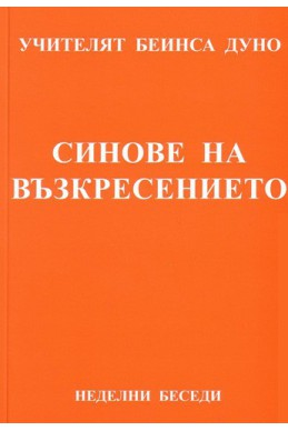 Синове на възкресението - НБ, серия Х, том 3, 1928 г.