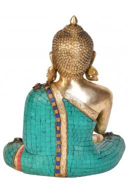 Статуетка на Буда в тибетско будистки стил  във Витарк Мудра